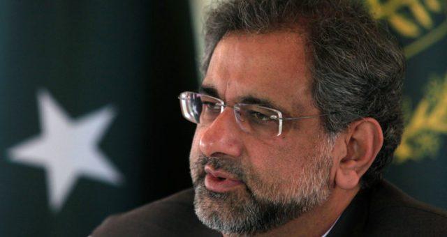 پاکستان اور امریکا کے تعلقات خرابی کی طرف جا رہے ہیں: وزیراعظم شاہد خاقان