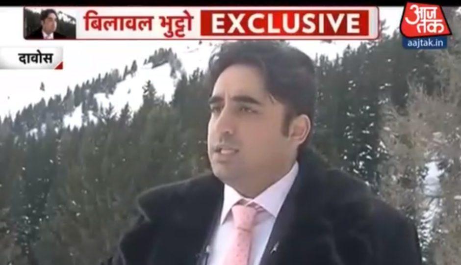 بلاول بھٹوکا بھارتی چینل کو انٹرویو، پاکستانیوں کو یہ امید نہ تھی