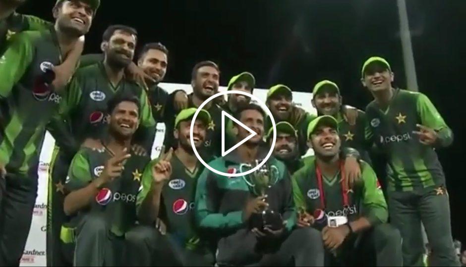 نیوزی لینڈ کے خلاف پاکستان کی جیت کے لمحات