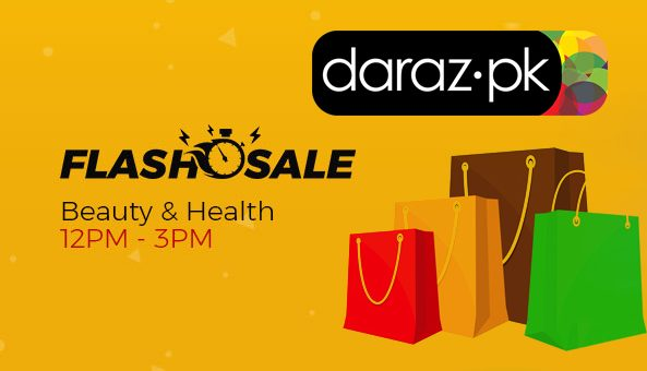 daraz.pk نے بیوٹی پراڈکٹس پر 60%تک سیل لگا دی