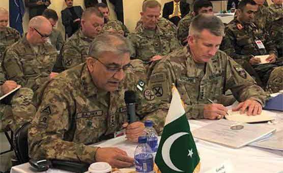 ہم نے دہشتگردوں کے تمام ٹھکانے ختم کر دیئے: جنرل باجوہ کا کابل میں خطاب