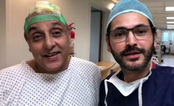 ساجد حسن کے زخمی سر کی سرجری