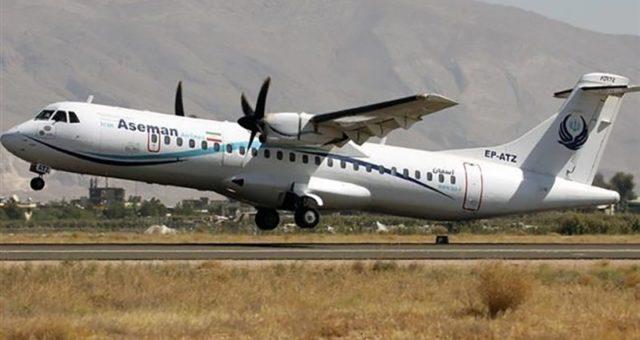 ایران کے مسافر طیارہ گر کر تباہ