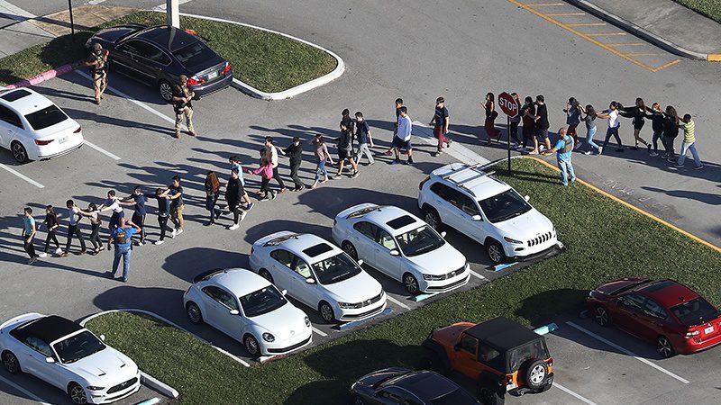 امریکہ: فلوریڈا کے سکول میں فائرنگ 17 ہلاک
