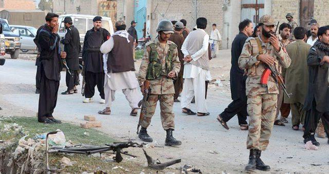 کوئٹہ میں سریاب روڈ پر فائرنگ سے 4 اہلکار شہید