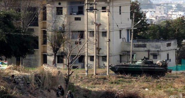 مقبوضہ کشمیرمیں بھارتی فوجی کیمپ پر حملہ، 5 ہلاک