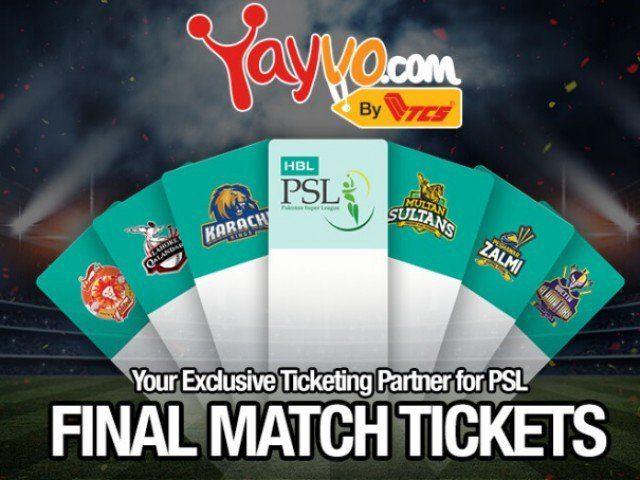 کراچی میں پی ایس ایل فائنل، ٹکٹوں کی فروخت کل سے شروع
