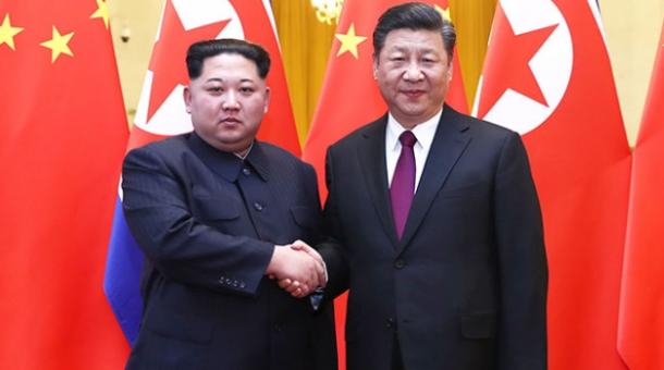 کم جونگ اُن چین میں ہی تھے، چینی وزارت خارجہ کا اعتراف