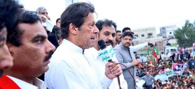 عمران خان کا گوجرانوالہ، کامونکے میں شاندار استقبال