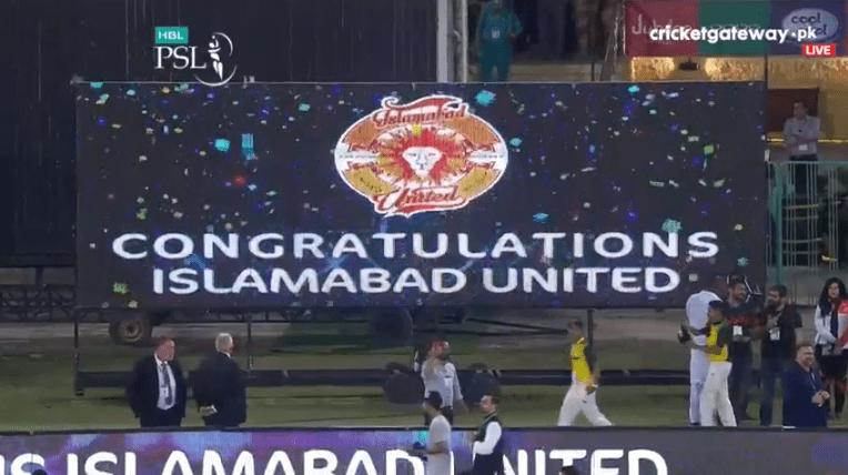 اسلام آباد یونائیٹڈ کی جیت کے لمحات، تصاویر دیکھیں
