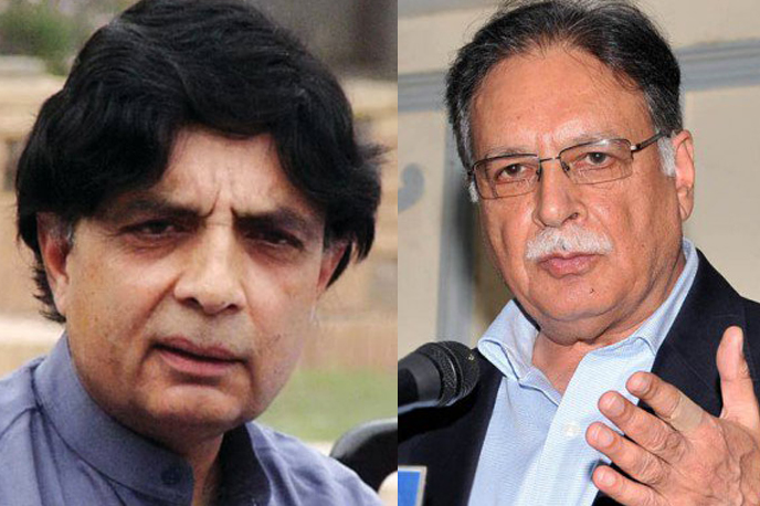 پرویز رشیدکا چوہدری نثار پر پھر وار، انتخابات کےلئے نثار پر ن لیگ کا دروازہ بندکر دیا