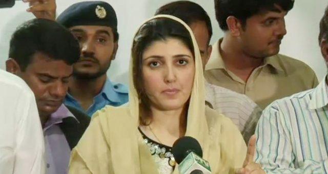 سینیٹ الیکشن: عائشہ گلالئی نے ووٹ پیپلز پارٹی کو دینے کا اعلان کر دیا