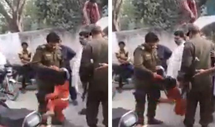 بچی کو پٹخنے والا پولیس اہلکار معطل، معطلی کے بعد بچی کے خاندان پر پھر تشدد