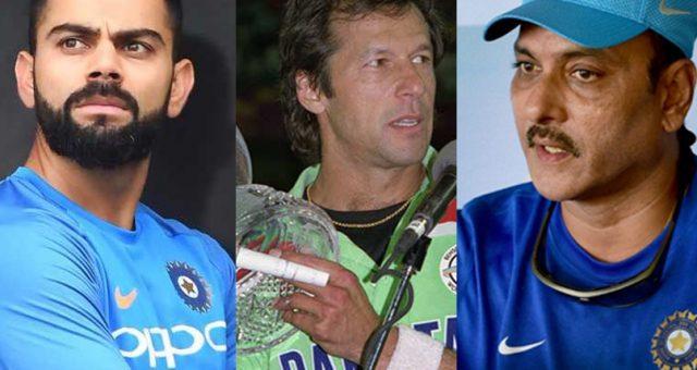 کوہلی میں عمران خان کی جھلک نظر آتی ہے: روی شاستری