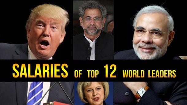 دنیا بھر کے سربراہوں کی تنخواہیں، پاکستانی وزیراعظم کی تنخواہ آپ جان کر حیران رہ جائیں گے