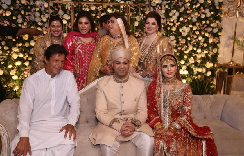 عمران خان رائے حسن کی بیٹی کی شادی میں پہنچ گئے