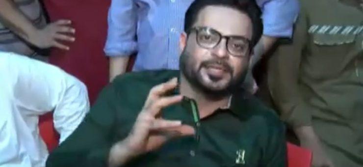 'بول ' پر واپس آتے ہی ڈاکٹر عامر کا پروگرام لوگوں نے بند کروا دیا، ویڈیو دیکھیں