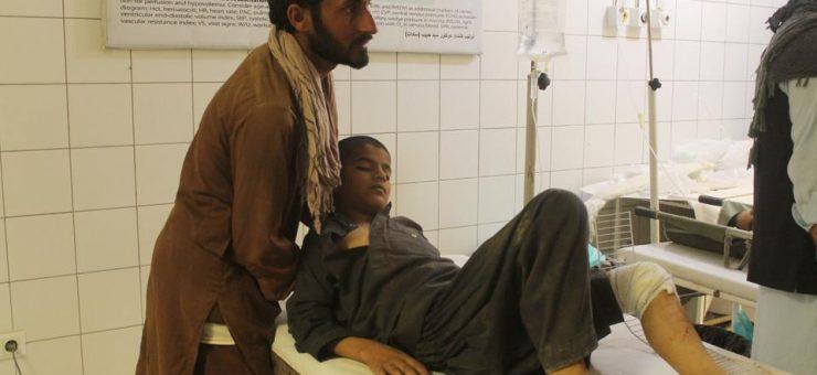 افغانستان کے مدرسے پر امریکی حملے کے بعد کی ویڈیو، کتنی تباہی ہوئی، بچے نہ دیکھیں
