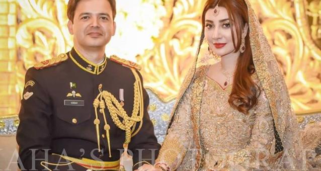 اداکارہ عائشہ خان کی شادی کی تصاویر سوشل میڈیا پر وائرل