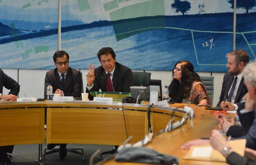 لیاقت علی خان کے بعد عمران خان کا برطانوی پارلیمنٹ کے اراکین سے خطاب