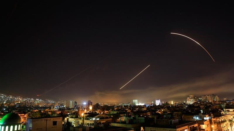 امریکہ، برطانیہ اور فرانس شام پر حملہ آور: دمشق مزائل حملوں سے لرز اٹھا