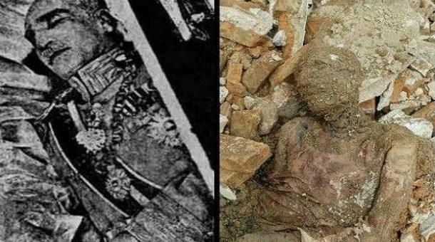 ایران میں کھدائی کے دوران پہلوی خاندان کے بانی رضا شاہ پہلوی کی حنوط شدہ نعش برآمد