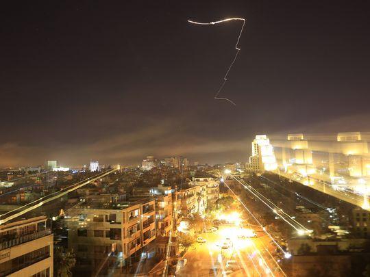 شام پر امریکی حملے کی فوٹیج، دل دہلا دینے والے مناظر