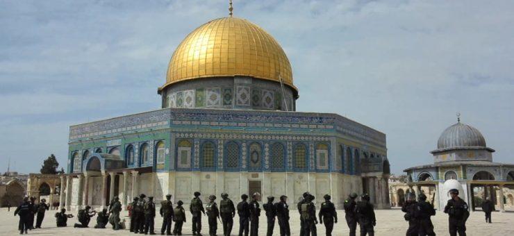 اسرائیلی پولیس کی سرپرستی میں 381 یہودیوں کا مسجد اقصیٰ پر دھاوا