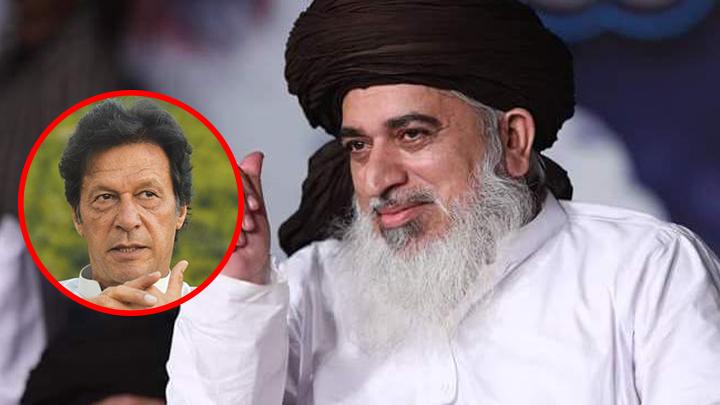 میں نے عمران خان کو بہت گالیاں دیں لیکن اب میں اسے سیلوٹ کرتا ہوں: مولوی خادم حسین