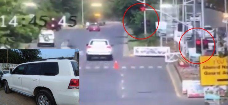 امریکی ملٹری اتاشی نے سگنل توڑا اور پاکستانی کو گاڑی تلے کچل دیا،CCTVفوٹیج لیک
