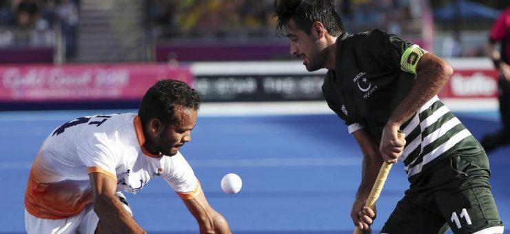 کامن ویلتھ گیمز، پاکستان نے آخر 7 سیکنڈز میں بھارت کے خلاف میچ برابرکر دیا