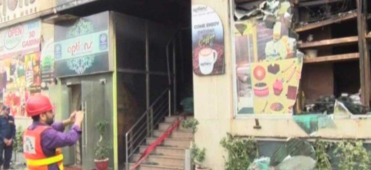 لاہور بیکری میں آگ، 5 افراد جاں بحق