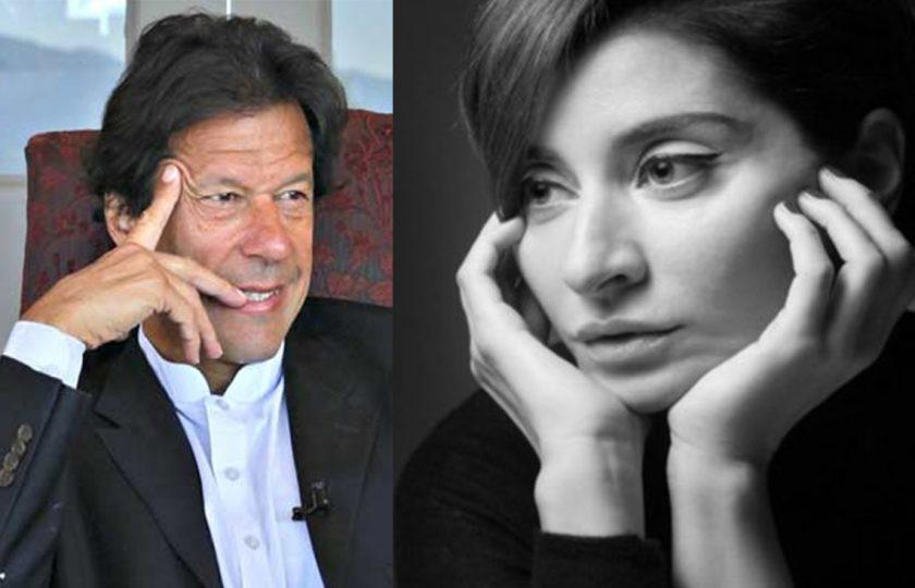 خوبصورت روسی اینکر بھی عمران خان کے سحر میں مبتلا