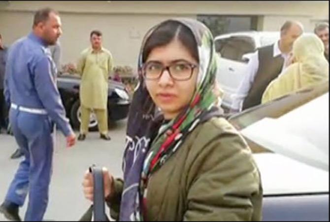 ملالہ 4 روزہ دورے کے بعد لندن واپس چلی گئیں