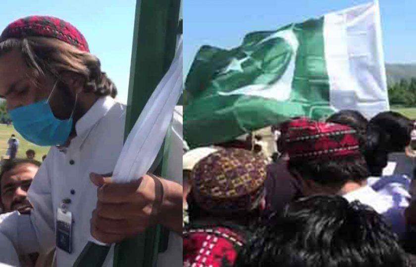 پاکستان کا جھنڈا پھینک کر جلسے میں آئو، پشتون تحفظ موومنٹ ملک دشمنی واضح