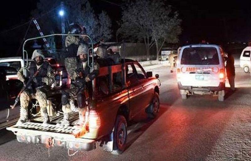 کوئٹہ: افغان دہشتگردوں کا حملہ ناکام، 5 خودکش حملہ آور ہلاک