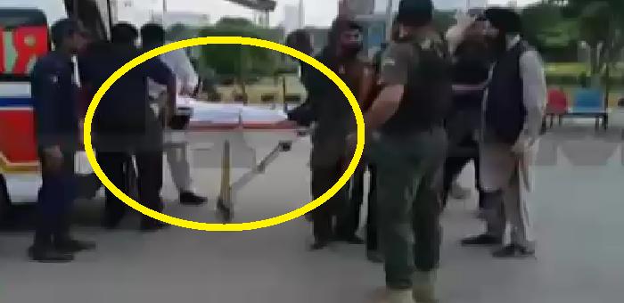 وزیر داخلہ پر حملے کی ویڈیو منظر عام پر ، ویڈیو دیکھیں