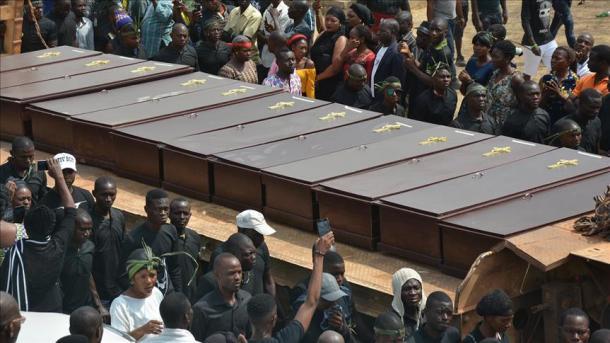 نائیجیریا میں جرائم پیشہ افراد کا گائوں پر حملہ، 45 دیہاتی قتل