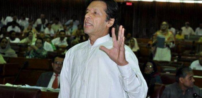 صرف اللہ کو ایمپائر مانتا ہوں: عمران خان کا قومی اسمبلی میں خطاب