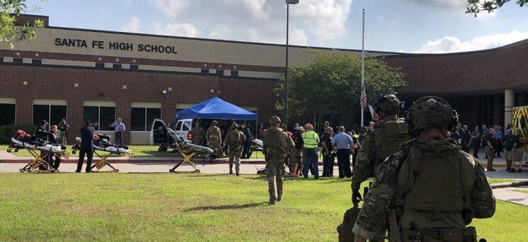 امریکہ: ٹیکساس کے سکول میں فائرنگ، 10 طالب علم ہلاک کئی زخمی