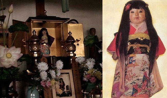 پراسرار جاپانی گڑیا جس کے سر سے انسانی بال اگ رہے ہیں