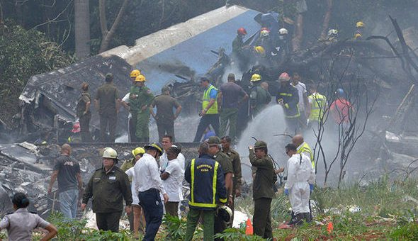 کیوبا میں مسافر طیارہ گر کر تباہ، 111 افراد ہلاک، 3 خوش قسمت زندہ بچ گئے
