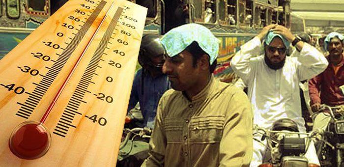 کراچی میں سورج سوا نیزے پر، اندرون سندھ پارہ 50 ڈگری