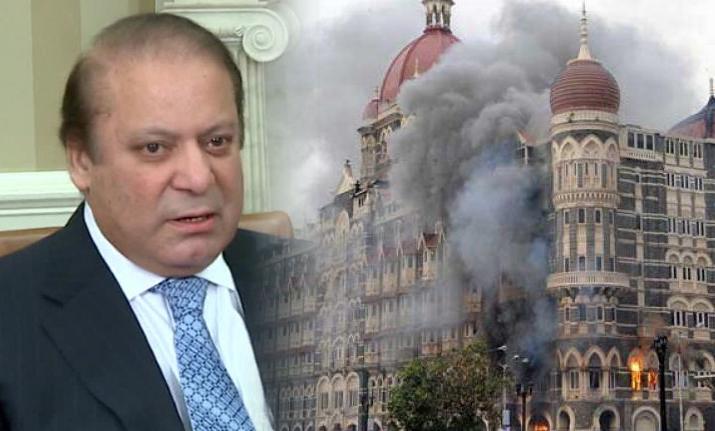 2008 میں ممبئی حملے پاکستانیوں نے کیے، بھارتی اخبار کا نواز شریف کے حوالے سے دعویٰ