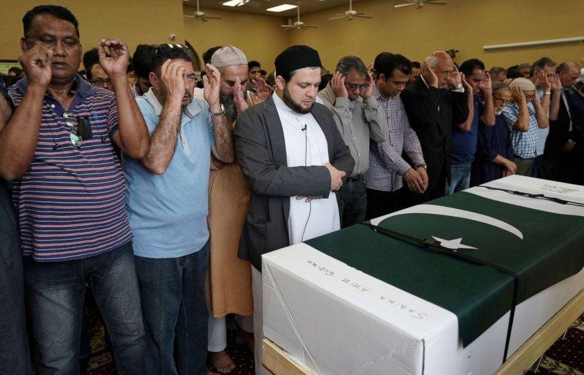 ٹیکساس فائرنگ سے جانبحق پاکستانی طالبہ سبیکا شیخ کی نماز جنازہ ادا