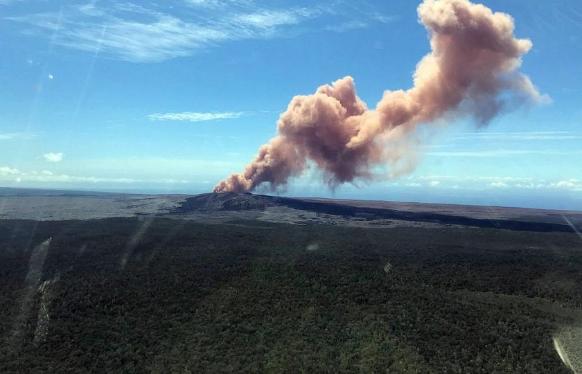 امریکی ریاست ہوائی میں زلزلہ،سب سے بڑے آتش فشاں نے لاوا اگلنا شروع کر دیا