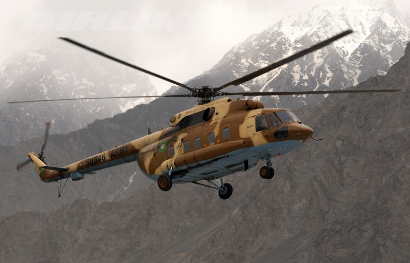 پاکستان آرمی کا ہیلی کاپٹر کوئٹہ کے قریب گر کر تباہ، ایک اہلکار شہید