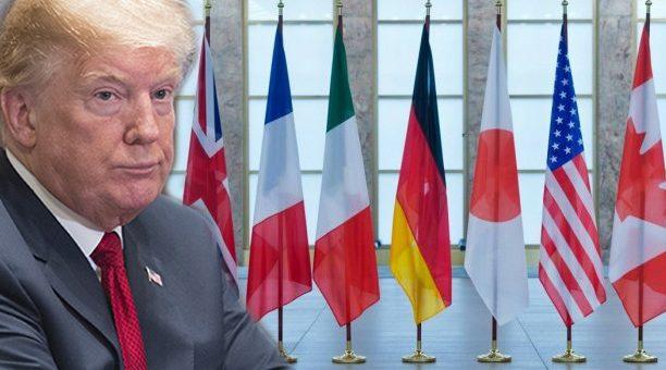 G7کے 6 ممالک ٹرمپ کے خلاف ڈٹ گئے