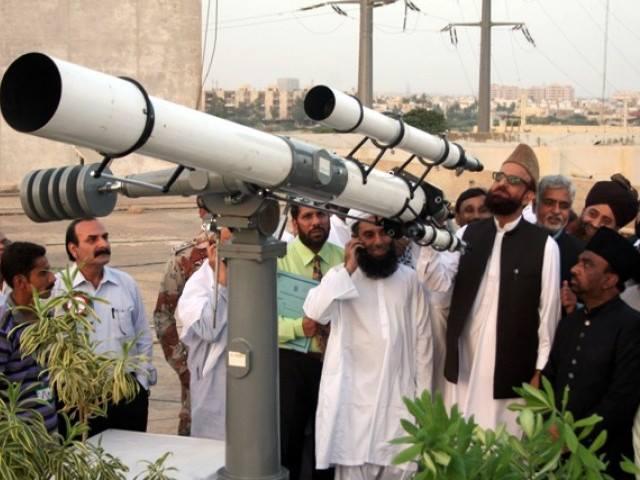 شوال کا چاند نظر نہیں آیا، عید ہفتے کو ہوگی