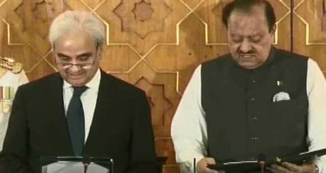 ناصر الملک پاکستان کے نگران وزیراعظم بن گئے